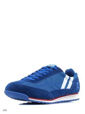 Кроссовки Men Casual Low Sneakers Patrick. Цвет: синий, белый