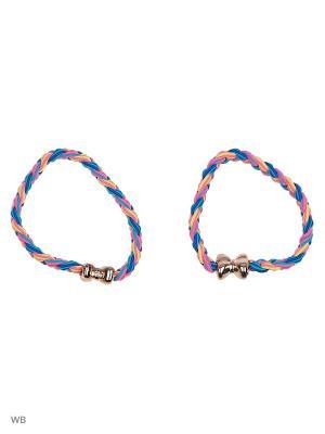 Резинки Bizon. Цвет: голубой, оранжевый, розовый
