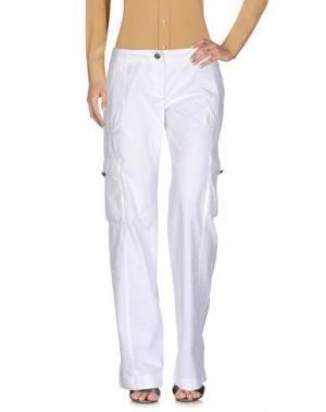 Повседневные брюки I BLUES CLUB. Цвет: белый