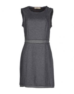 Короткое платье COAST WEBER & AHAUS. Цвет: серый