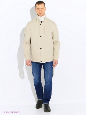 Куртки ALEX Maritta. Цвет: бежевый