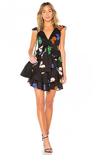 Платье Cynthia Rowley. Цвет: черный