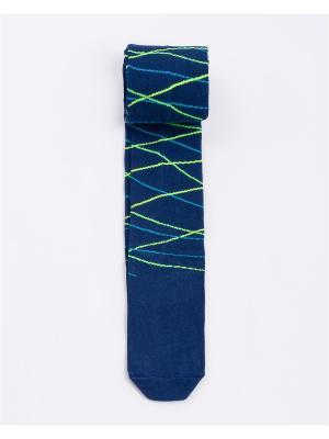 Колготки Mark Formelle. Цвет: темно-синий, салатовый, голубой