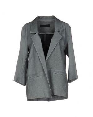 Пиджак ENES. Цвет: грифельно-синий