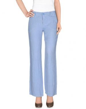 Повседневные брюки BLUKEY. Цвет: небесно-голубой