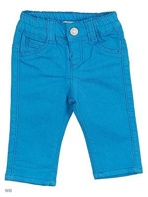 Джинсы United Colors of Benetton. Цвет: синий, светло-зеленый