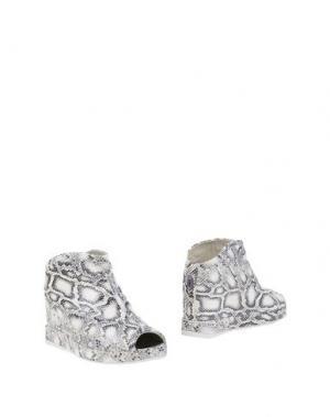 Ботинки RUCO LINE. Цвет: слоновая кость