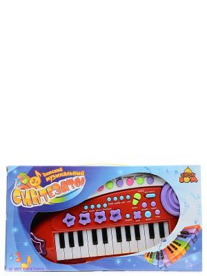 Музыкальный инструмент Тилибом. Цвет: темно-красный, белый