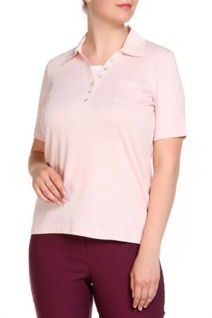 Блуза HELENA VERA. Цвет: розовый