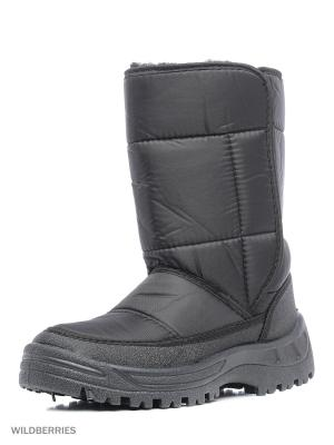 Дутики ШК обувь. Цвет: черный
