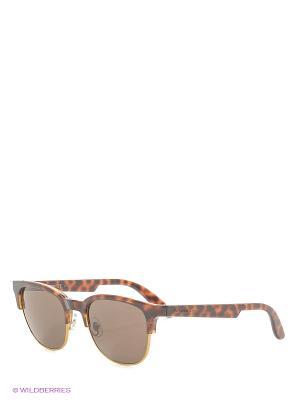 Солнцезащитные очки CARRERA. Цвет: коричневый, рыжий