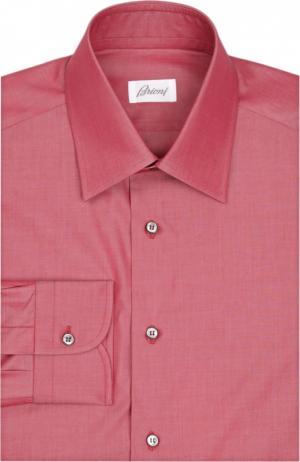 Сорочка Brioni. Цвет: бордовый