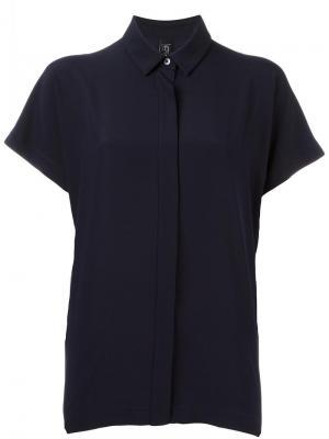Рубашка Gaban Zero + Maria Cornejo. Цвет: синий