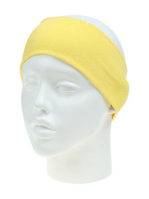 Повязка на голову Migura. Цвет: желтый