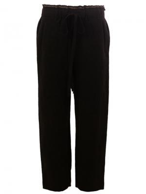 Широкие спортивные брюки Uma Wang. Цвет: чёрный