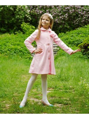 Пальто флисовое МИКИТА. Цвет: розовый