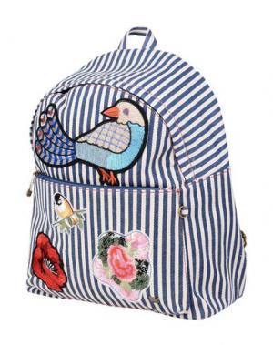 Рюкзаки и сумки на пояс LOLLIPOPS. Цвет: синий