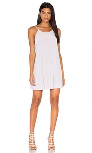 Платье miss rocky Rory Beca. Цвет: бледно-лиловый