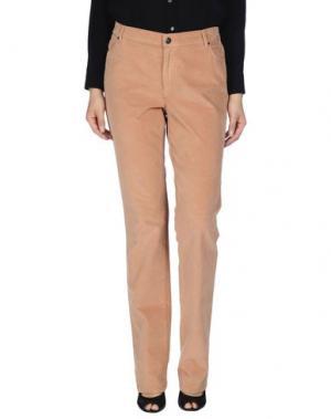 Повседневные брюки XANDRES. Цвет: охра