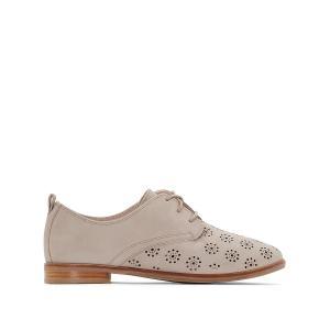 Ботинки-дерби кожаные Alania Posey CLARKS. Цвет: серый