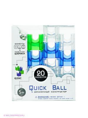 Конструктор Quick Ball. Цвет: синий, зеленый, прозрачный