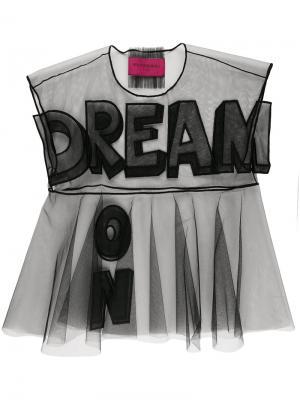 Футболка Dream On. Icon 1.2 Viktor & Rolf. Цвет: чёрный