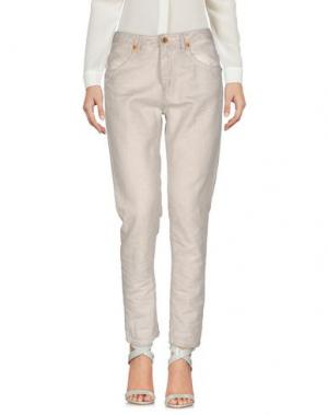 Повседневные брюки AB/SOUL. Цвет: серый