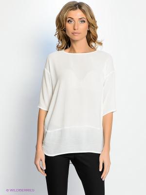 Блузка PROFITO AVANTAGE. Цвет: молочный