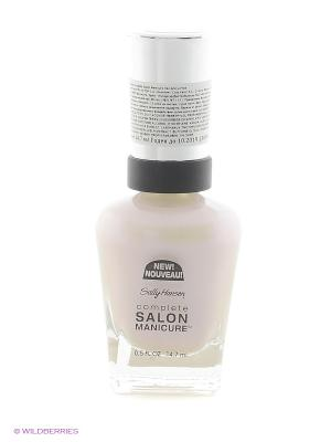 Лак для ногтей Salon Manicure Keratin, тон 120 luna pearl SALLY HANSEN. Цвет: бледно-розовый