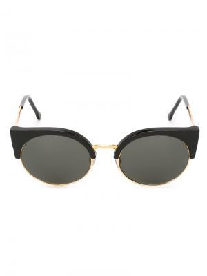Солнцезащитные очки Ilaria Retrosuperfuture. Цвет: чёрный