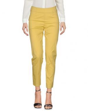 Повседневные брюки ROSSO35. Цвет: кислотно-зеленый