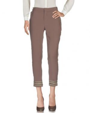 Повседневные брюки EUREKA. Цвет: хаки