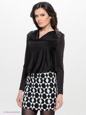 Платье Verezo. Цвет: черный, белый
