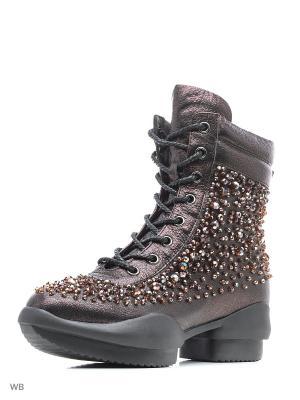 Ботинки EGGA. Цвет: фиолетовый