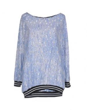 Блузка CHILI PEPPERS. Цвет: небесно-голубой
