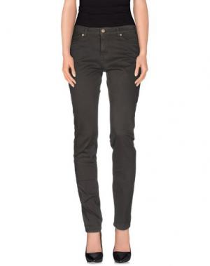 Повседневные брюки 2W2M. Цвет: свинцово-серый