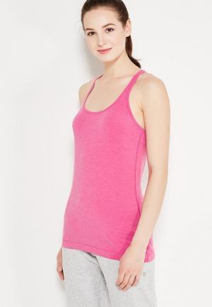 Майка спортивная Gap. Цвет: розовый