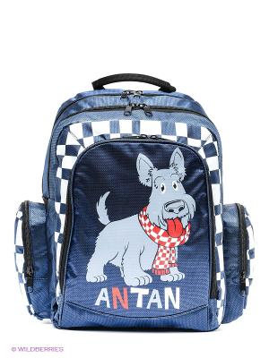 Рюкзак ANTAN. Цвет: синий, фиолетовый