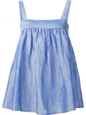 Расклешенная блузка Co. Цвет: синий