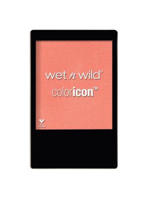 Румяна для лица color icon, E3252 pearlescent pink Wet n Wild. Цвет: розовый
