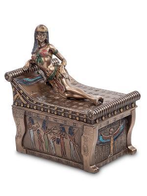 Шкатулка Клеопатра Veronese. Цвет: бронзовый