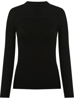 Knit blouse Gloria Coelho. Цвет: чёрный
