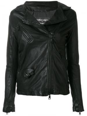 Куртка на молнии Giorgio Brato. Цвет: чёрный