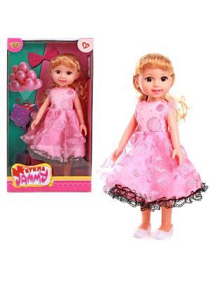 Кукла 31 см VELD-CO. Цвет: розовый, белый
