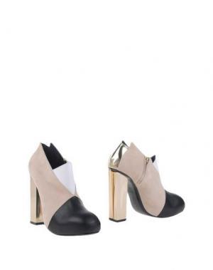 Ботинки CHARLINE DE LUCA. Цвет: песочный