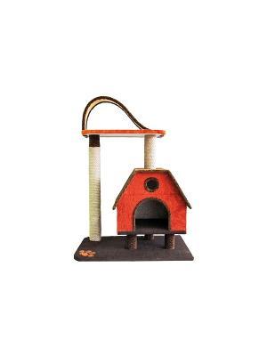 Комплекс с горкой коврово-джутовый Неженка. Цвет: серый