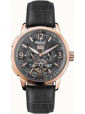 Часы I00302 Ingersoll. Цвет: черный, золотистый