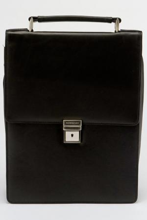 Портфель Bodenschatz. Цвет: черный