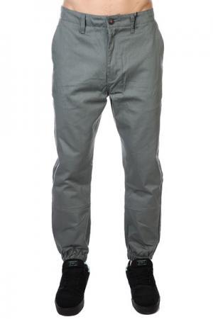Штаны прямые  Peyote Pant Safari Altamont. Цвет: серый