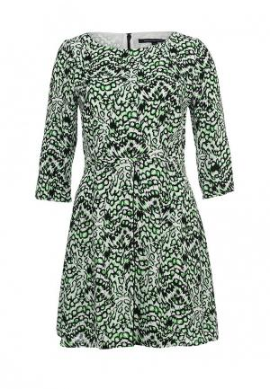 Платье French Connection. Цвет: зеленый